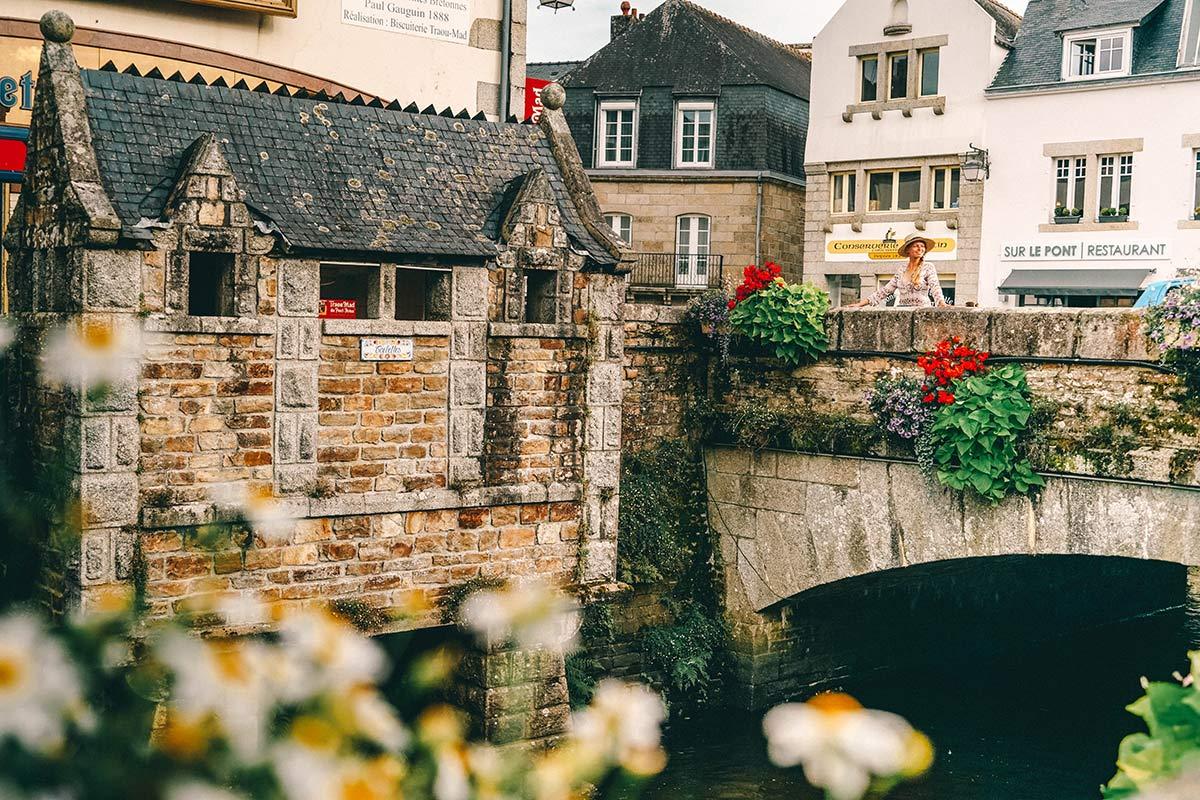 Das Toiletten in Pont Aven