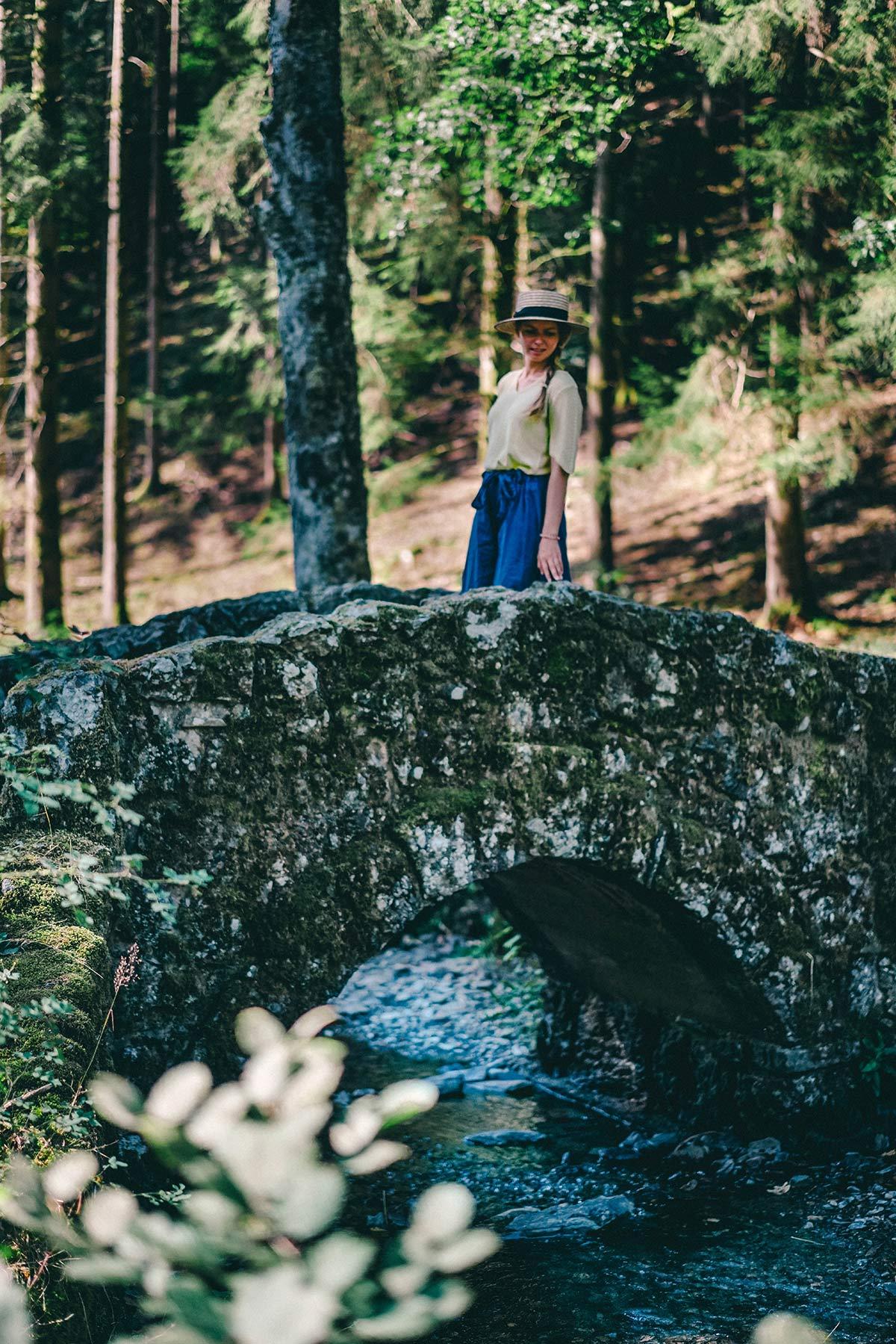 Steinbrücke beim Roche a l'Appel