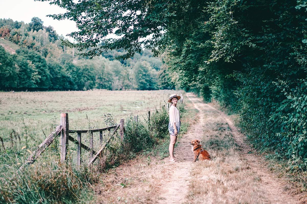 Wanderwege in der Wallonie