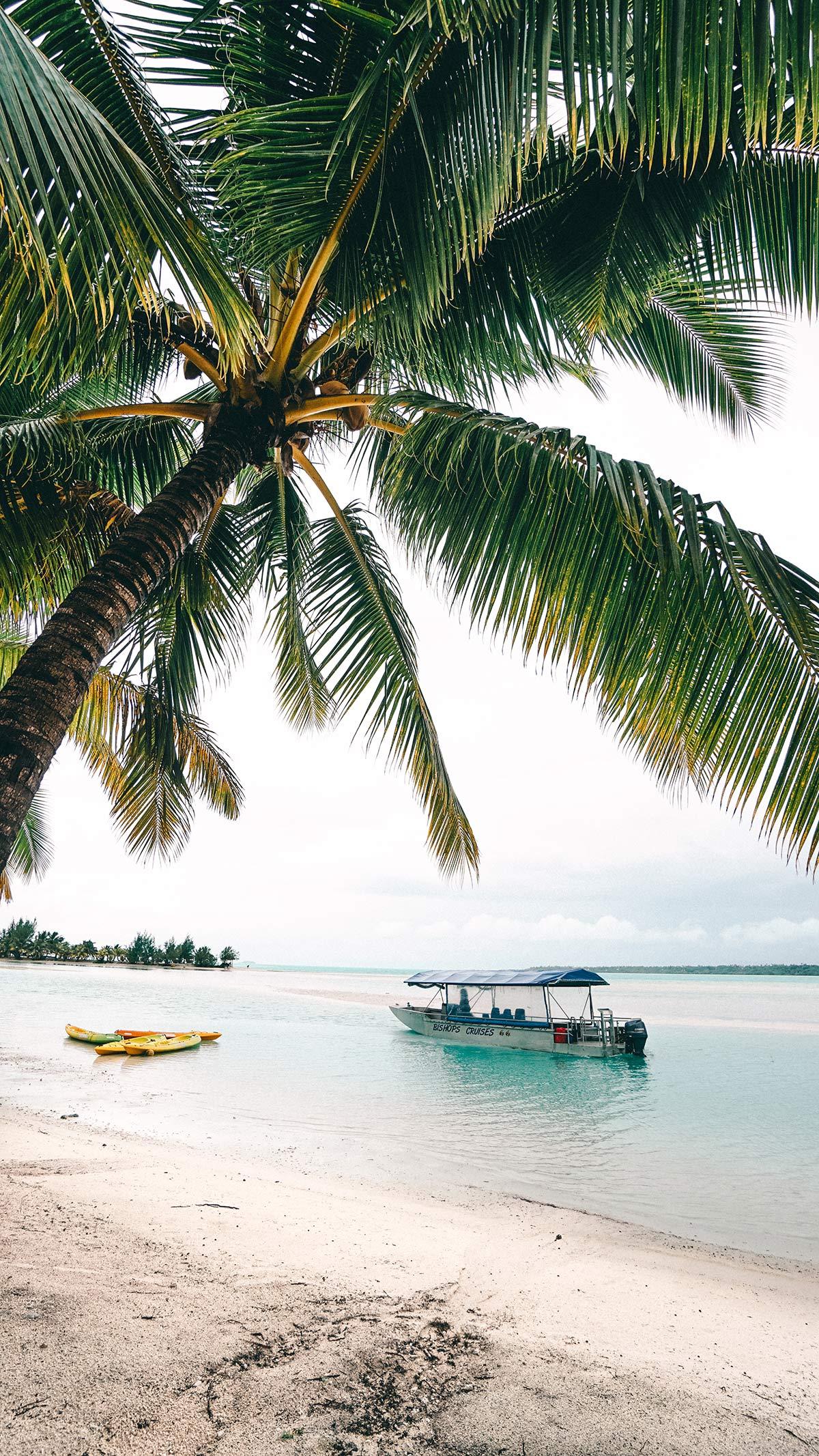 Bishops Cruise durch LagunevAitutakis