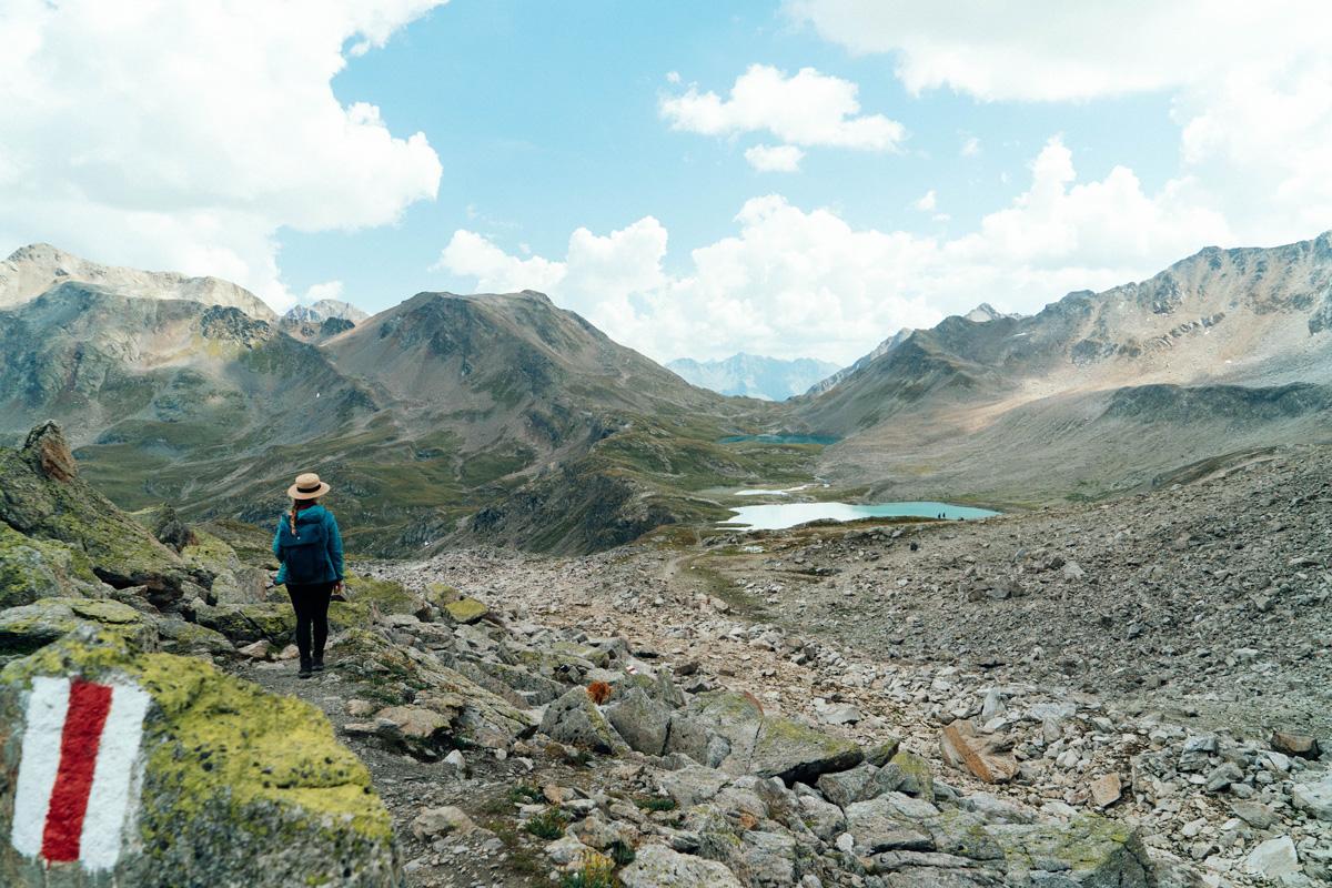 Davos Wanderung zu den Jöriseen