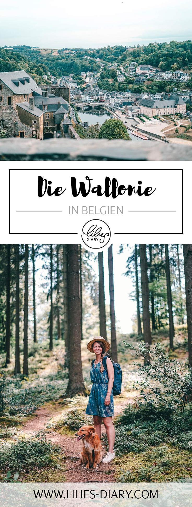 Die Wallonie in Belgien