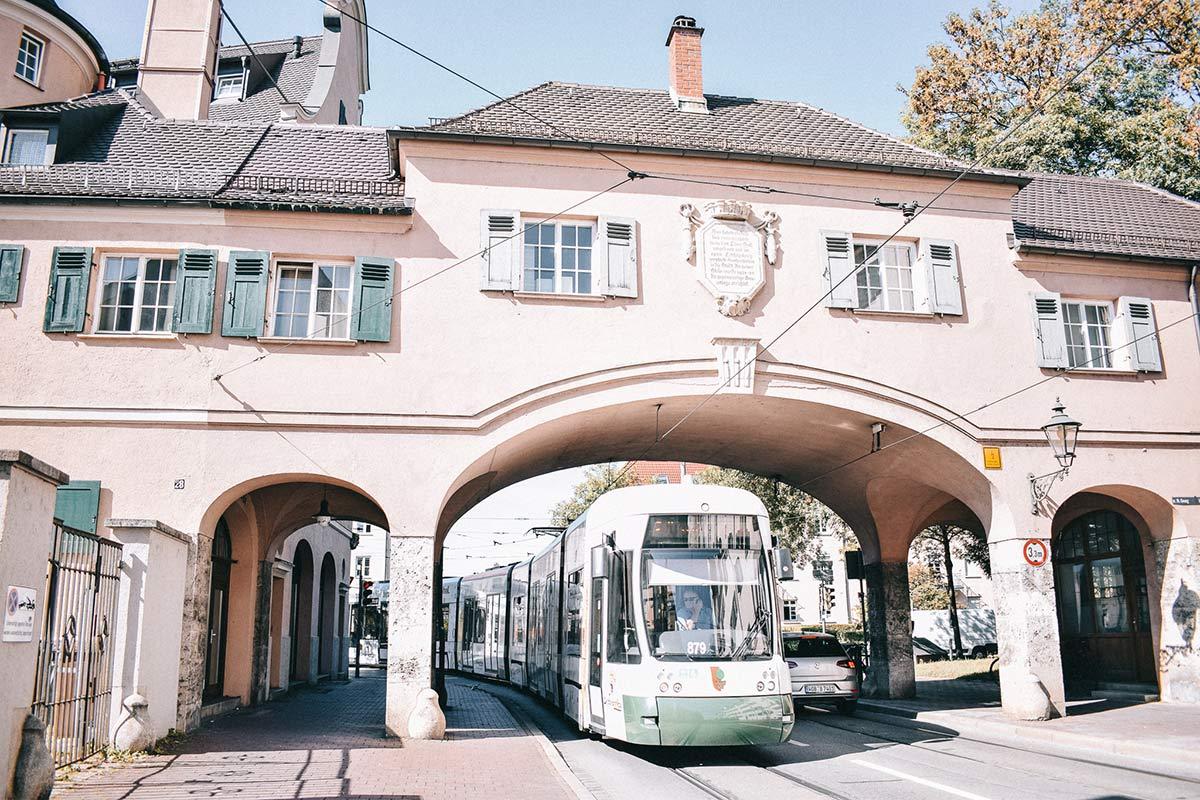 Fischertor in Augsburg