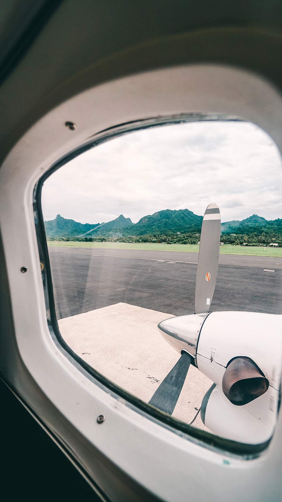 Flug Aitutaki von Rarotonga