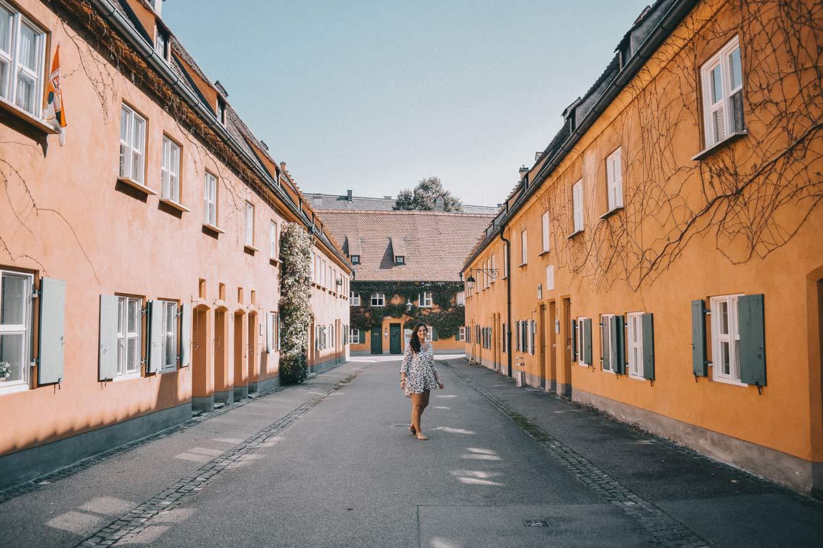 Fuggerei in Augsburg
