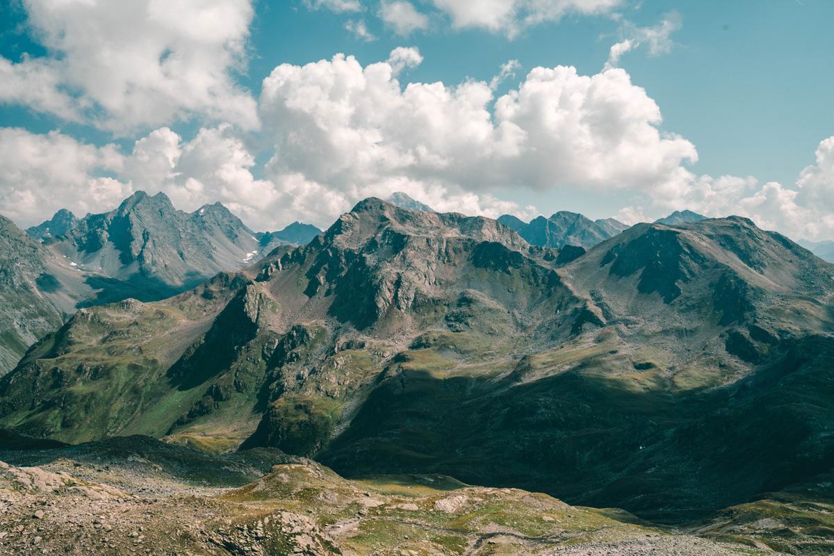 Berge in Graubünden