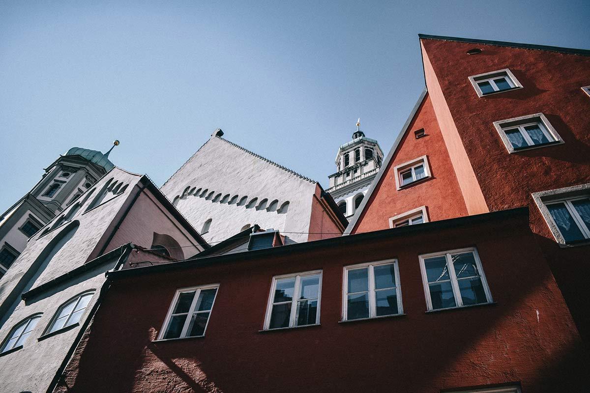 Häuser in Augsburg