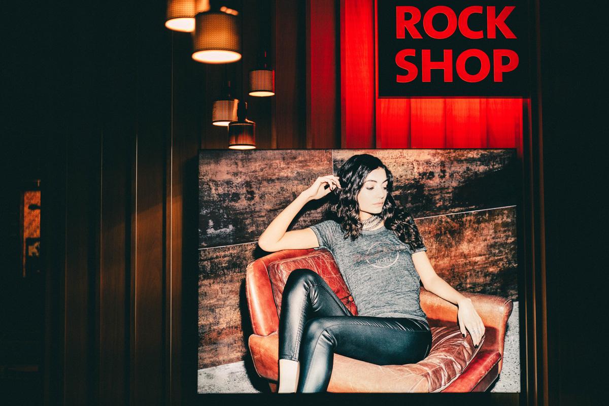 Shop des Hard Rock Hotel Davos