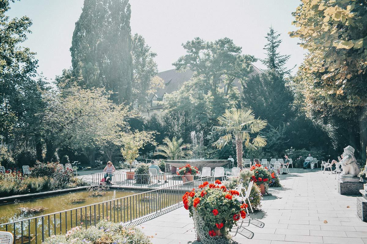 Augsburg Sightseeing – Hofgarten