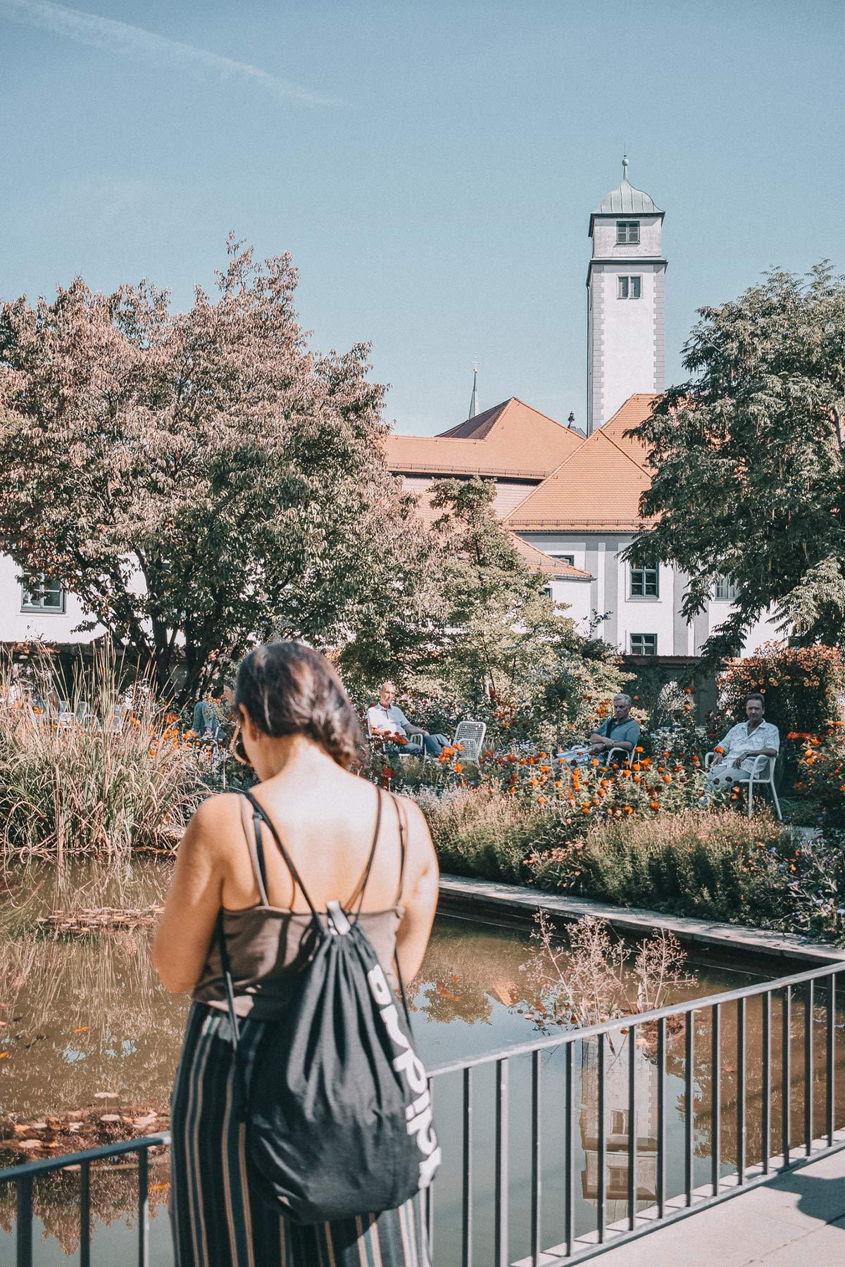 Blick auf den Augsburger Dom