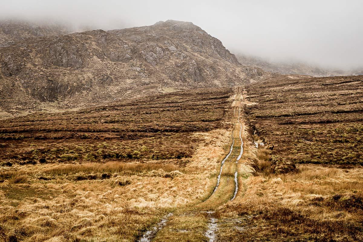Irland Donegal Banagher Sattel