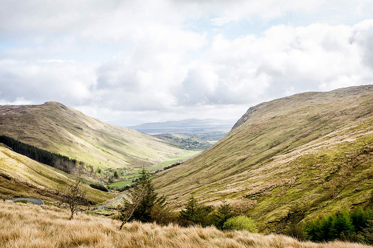 Irland Donegal Bergwelt