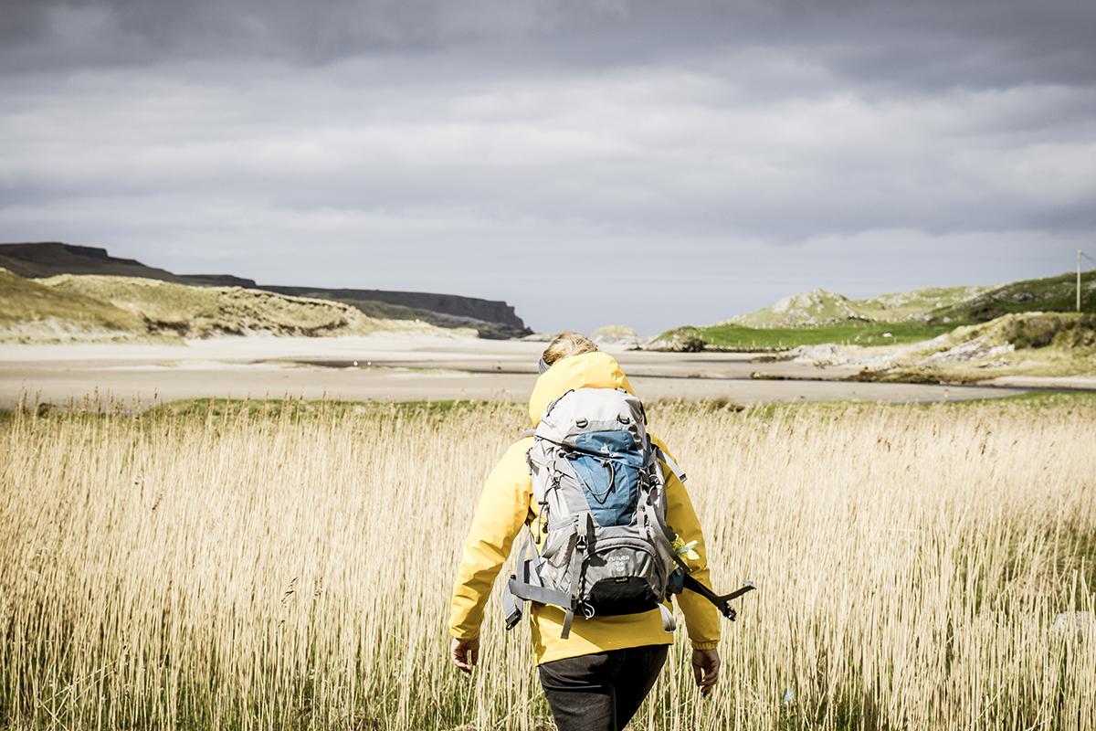 Irland Donegal Glencolumbkille Atlantik