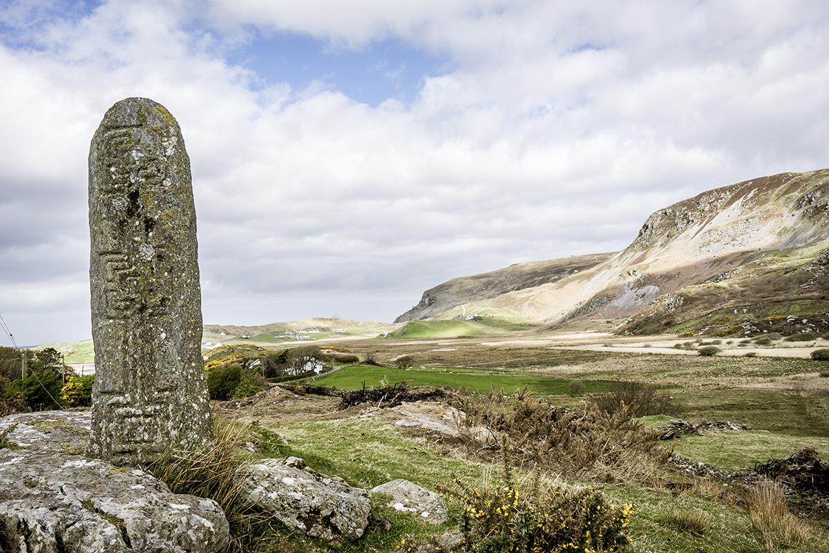 Irland Donegal Glencolumbkille Dolmen
