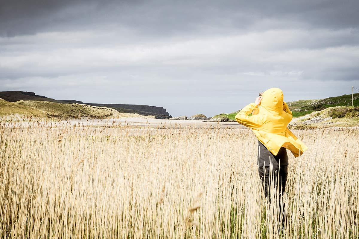 Irland Donegal Glencolumbkille Feld