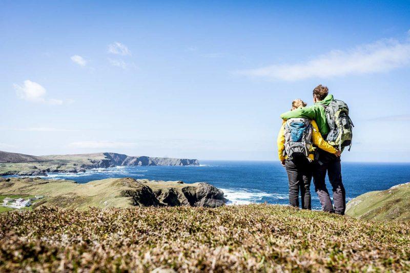 Irland Donegal Glencolumbkille Kueste