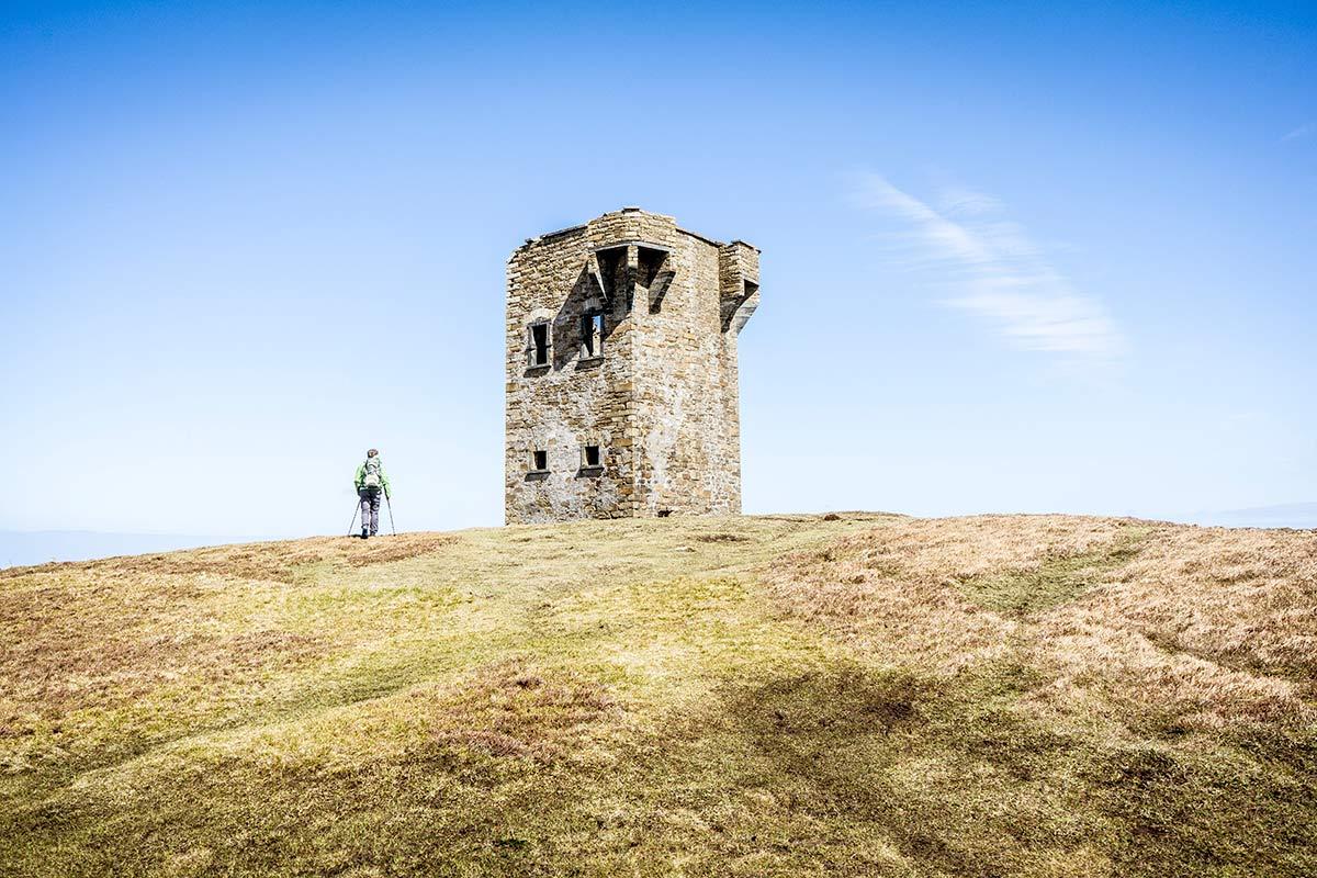Irland Donegal Glencolumbkille Leuchtturm