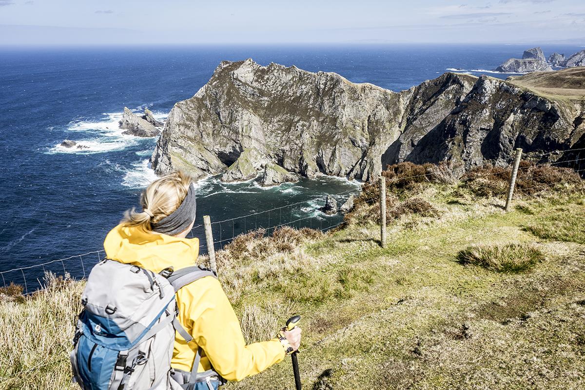 Irland Donegal Glencolumbkille Wanderweg