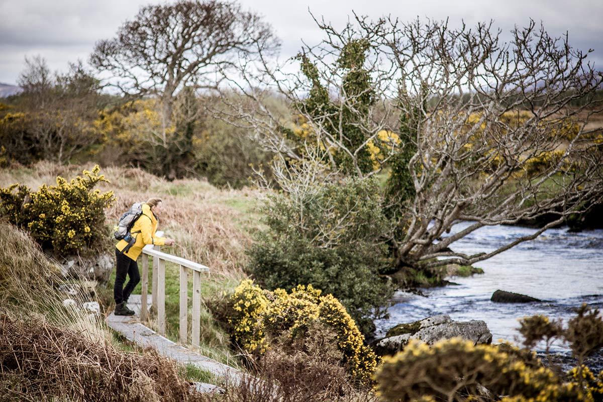 Irland Donegal Owenea River Flusslauf