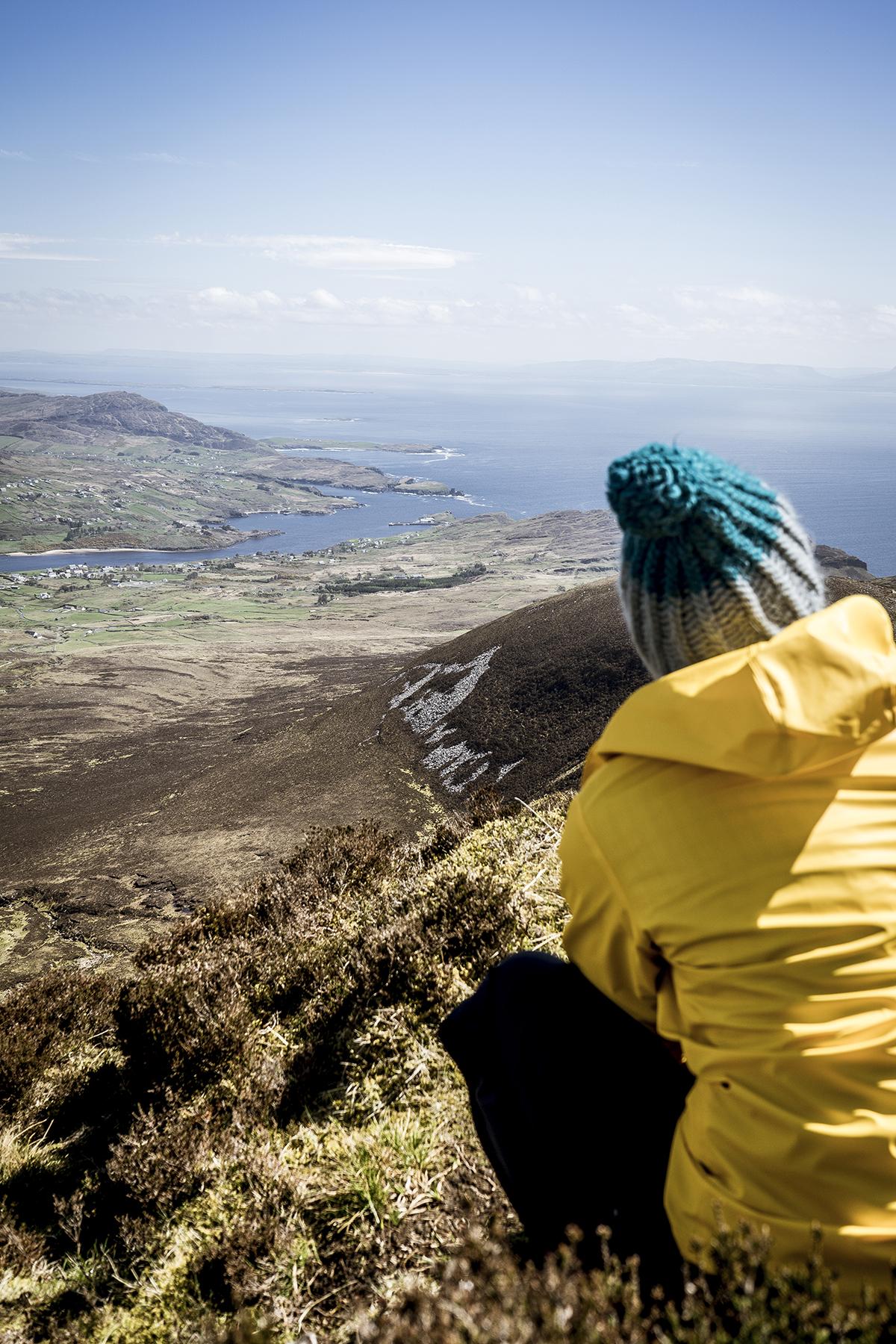 Irland Donegal Slieve Leage Klippen Fernsicht