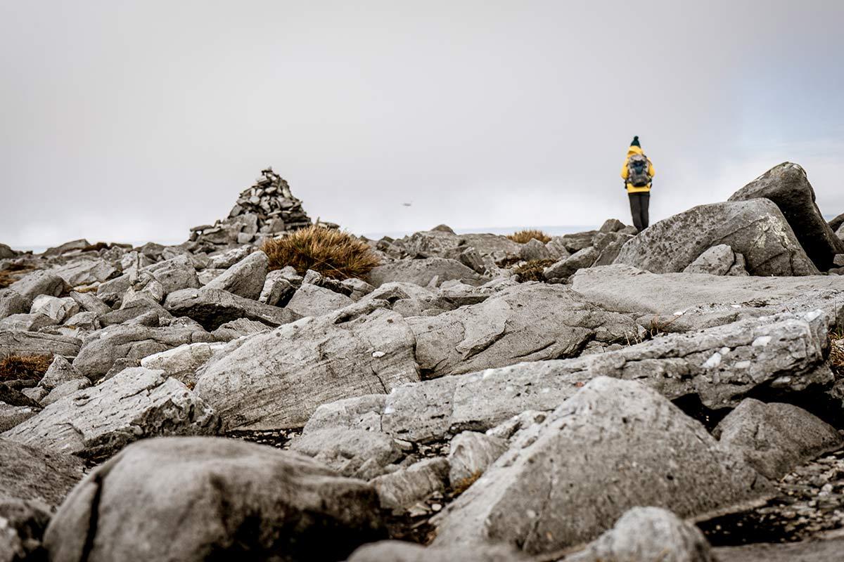 Irland Donegal Slieve Leage Klippen Steinlandschaft