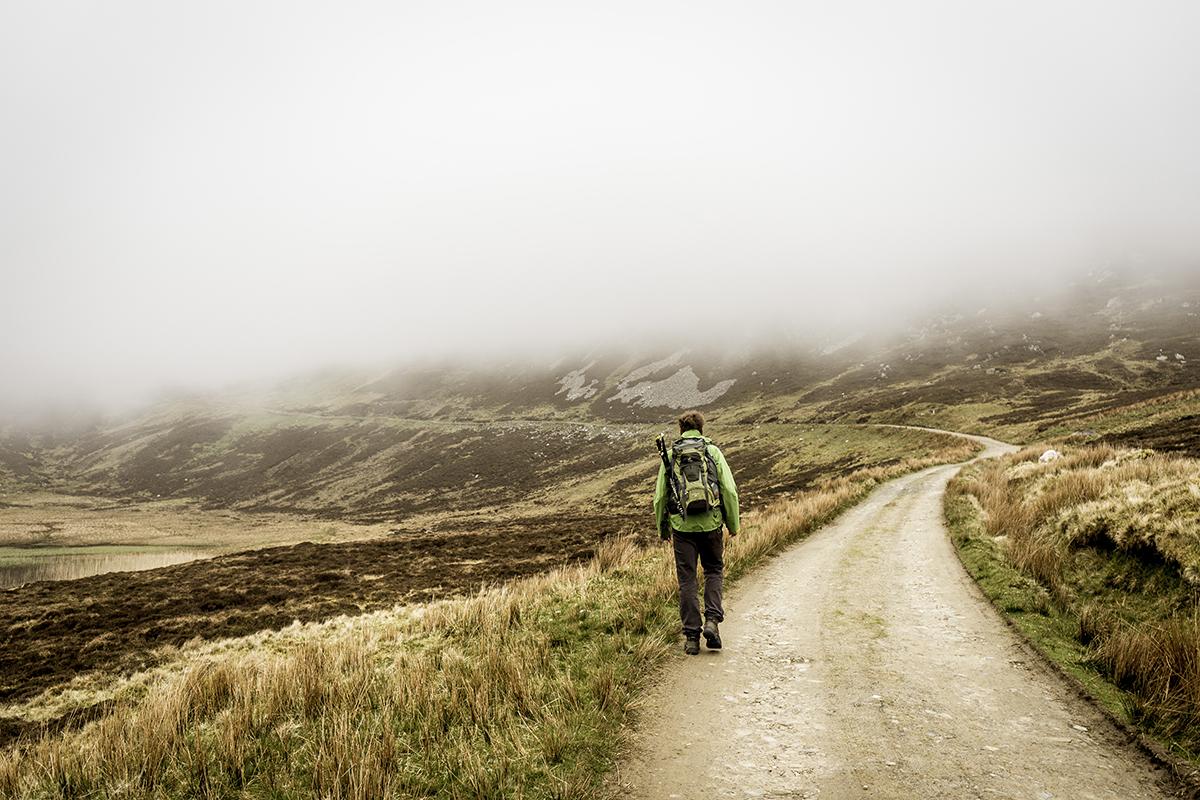 Irland Donegal Slieve Leage Klippen Wanderweg