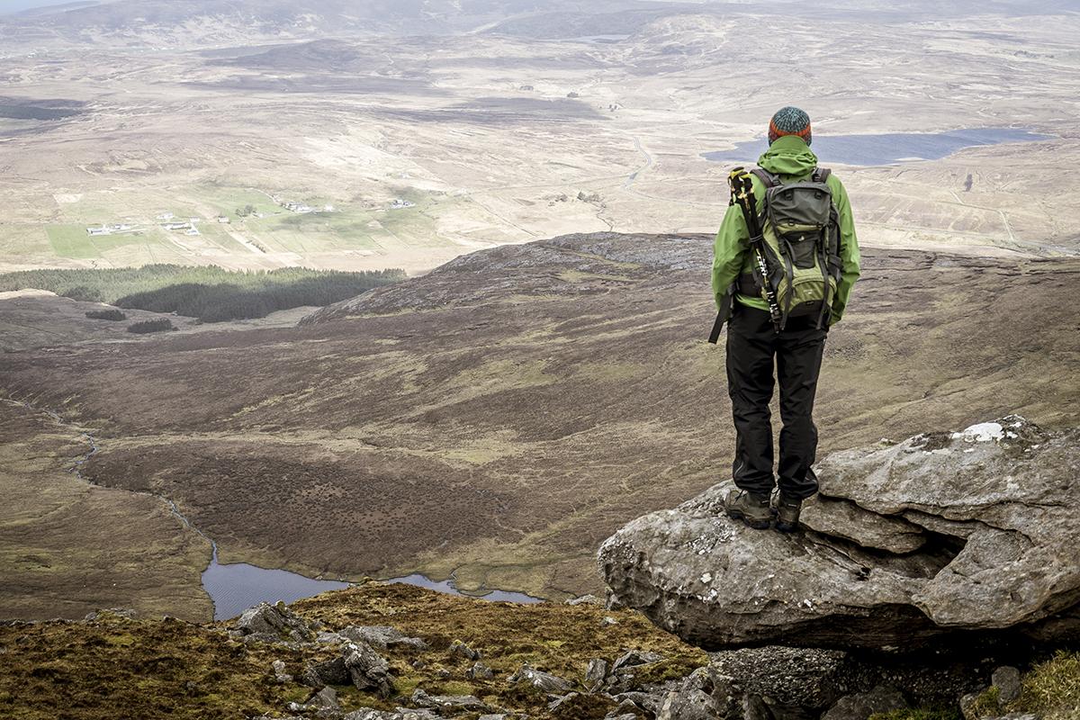 Irland Donegal Slieve Leage Klippen Weitsicht
