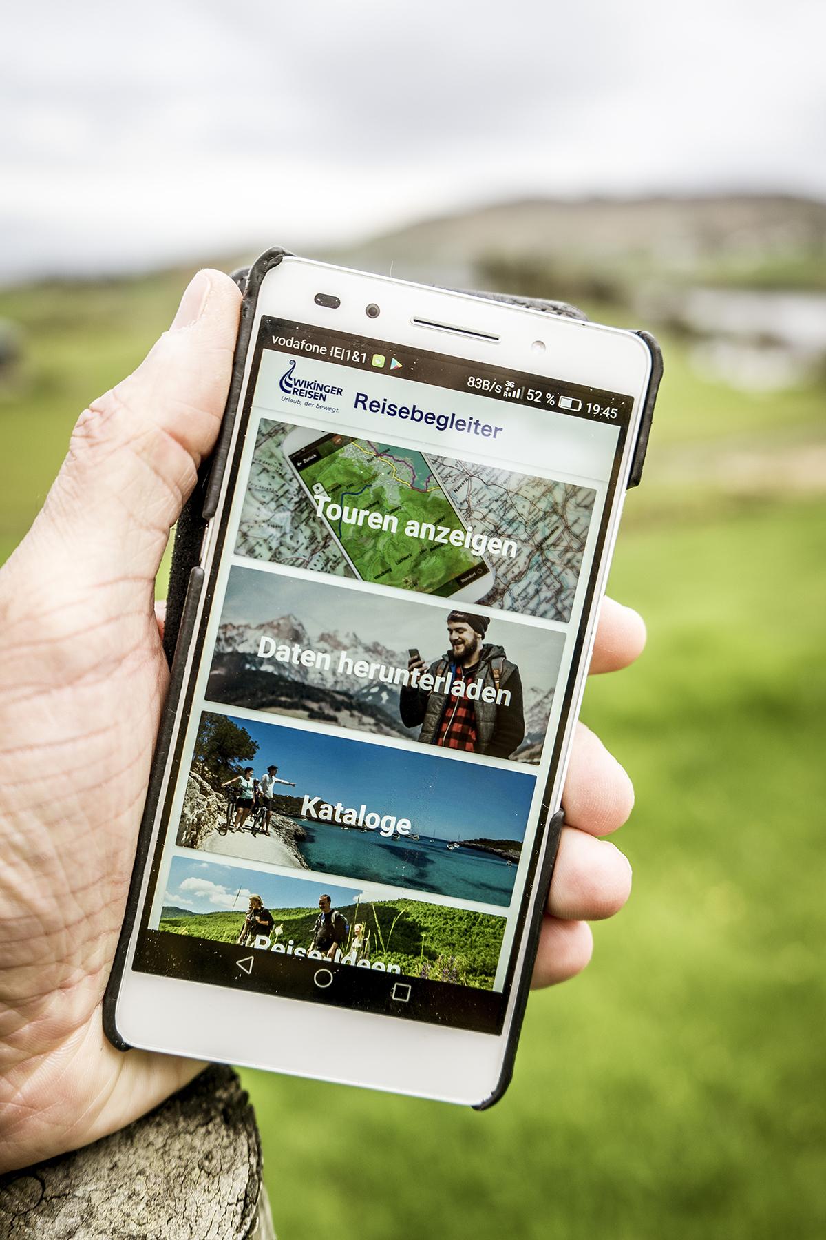 Irland Donegal Wanderapp