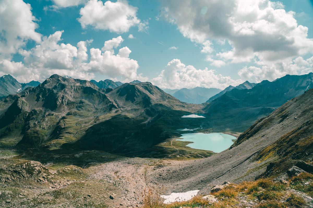 Die Bergseen Jöriseen