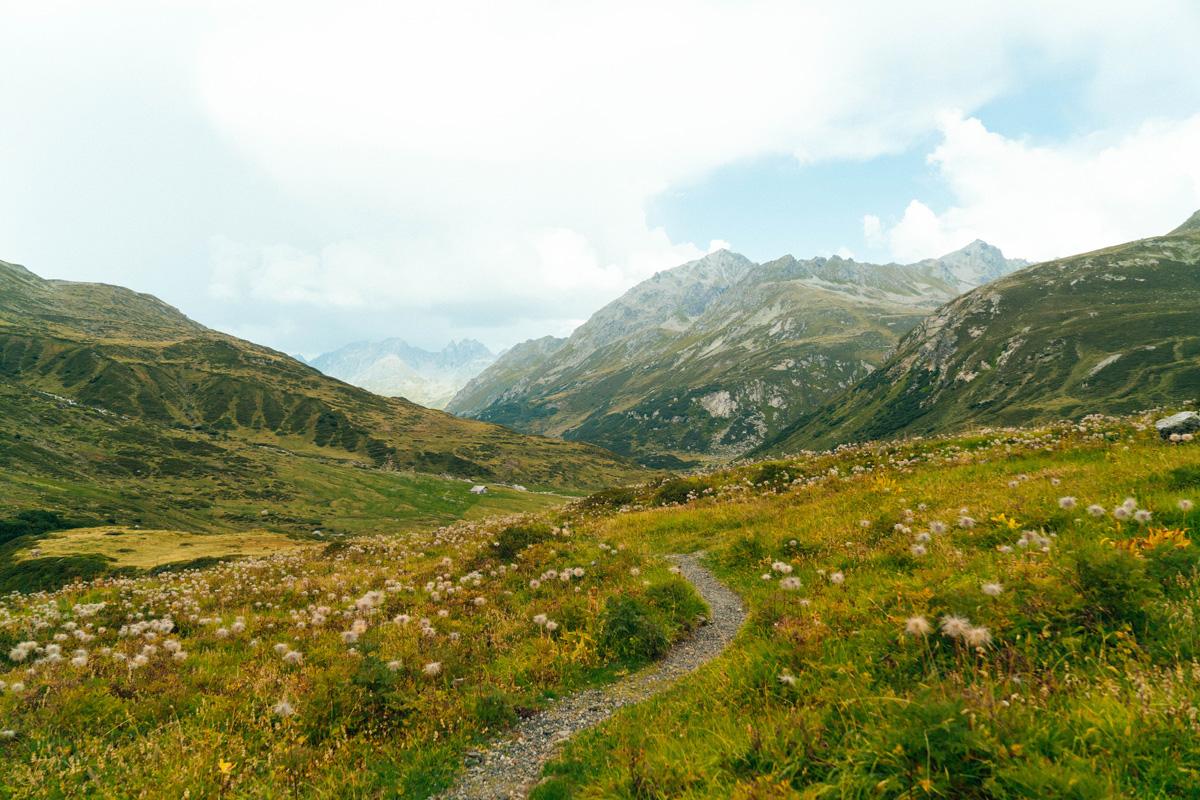 Landschaft Vereinatal