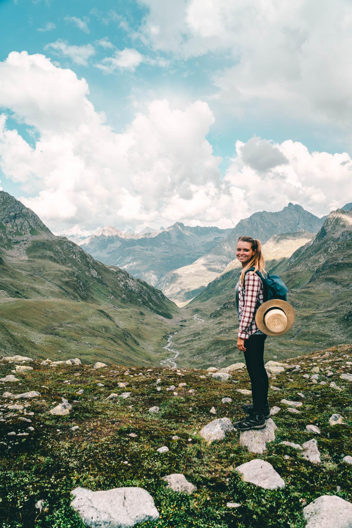 Christine Neder in der Schweiz