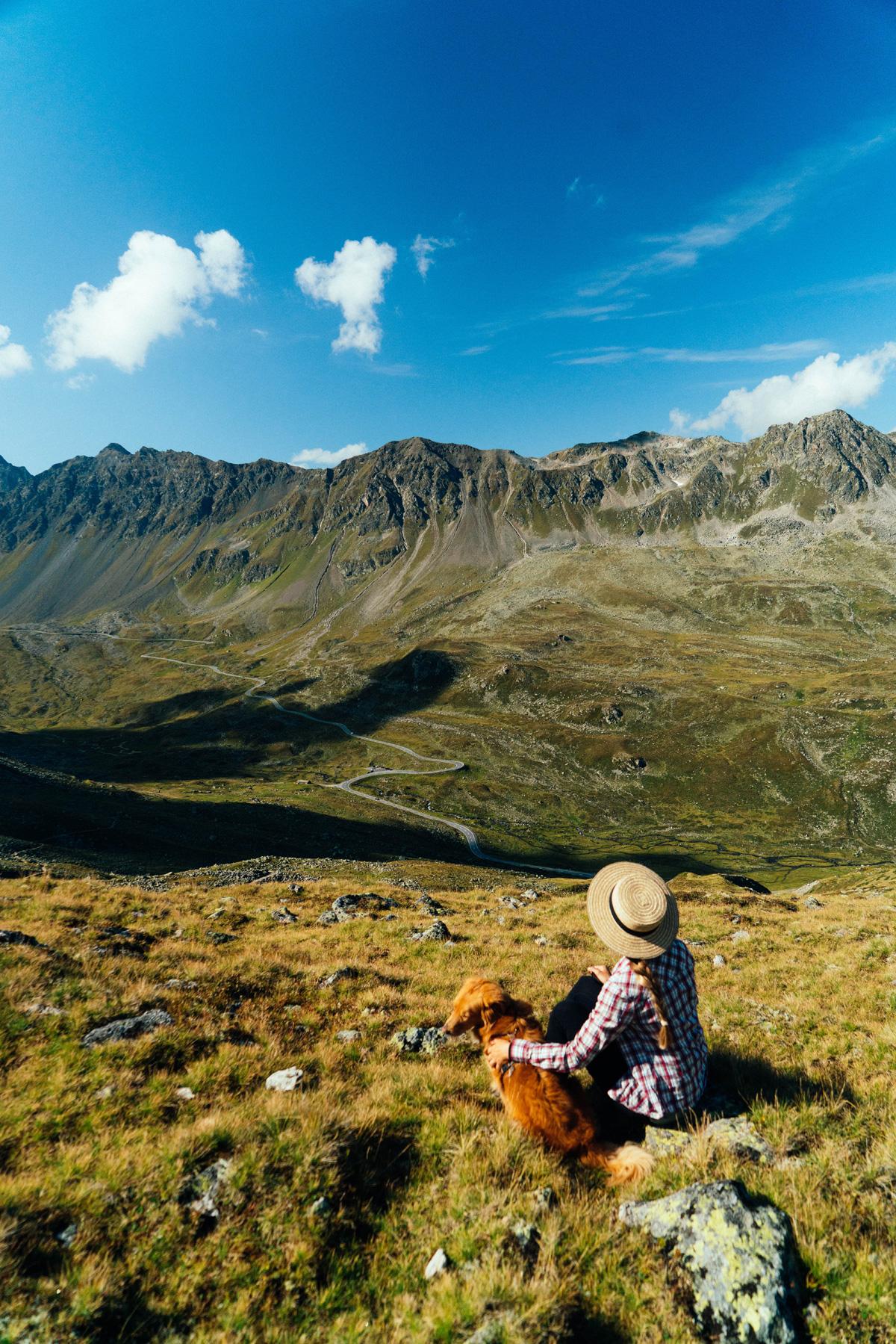 Schweiz Wandern Christine Neder