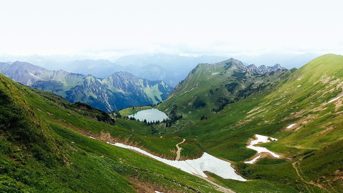 Seealpsee Bergseen im Allgäu