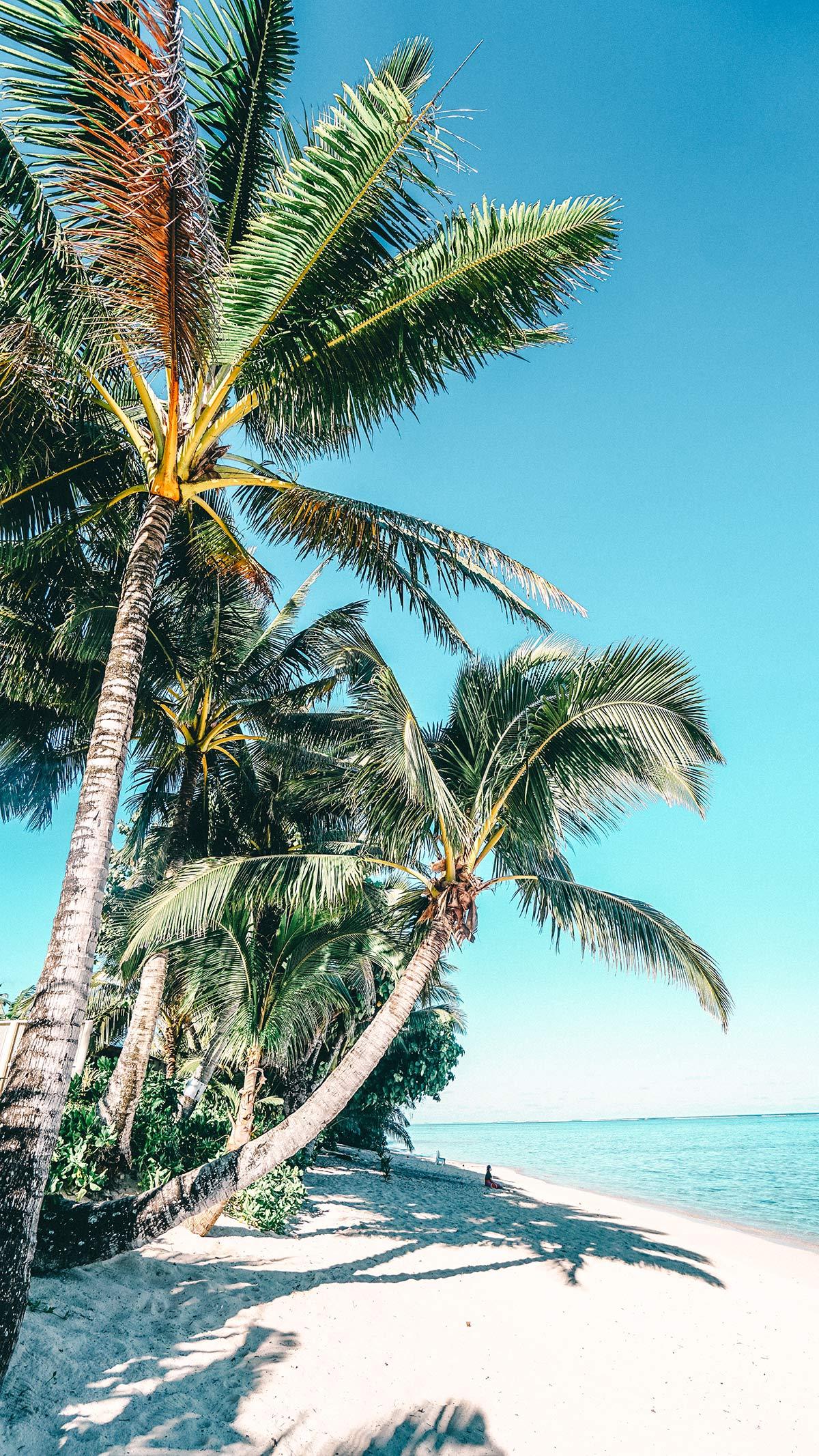 Traumstrand vor den Moana Bay Sands Villas