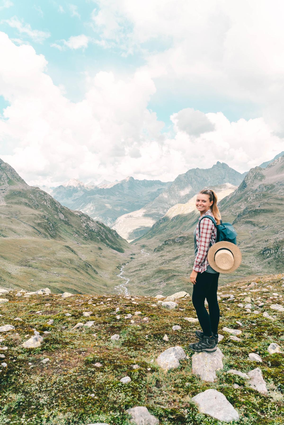 Christine Neder in Davos Klosters in der Schweiz