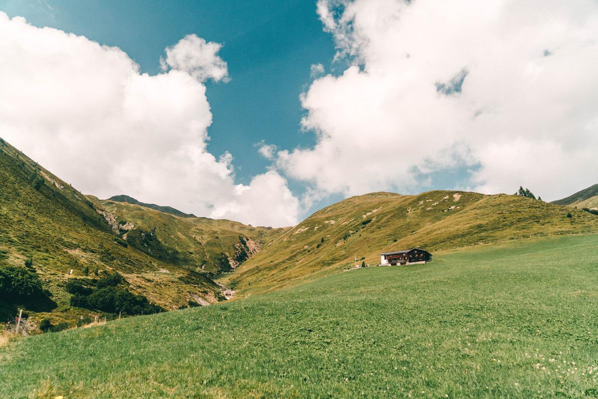 """Wanderung """"Auf den Spuren Kirchners"""" Landschaft"""