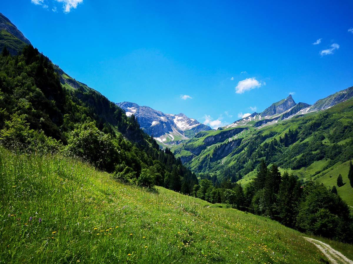 Wanderung durchs Hintersteiner Tal
