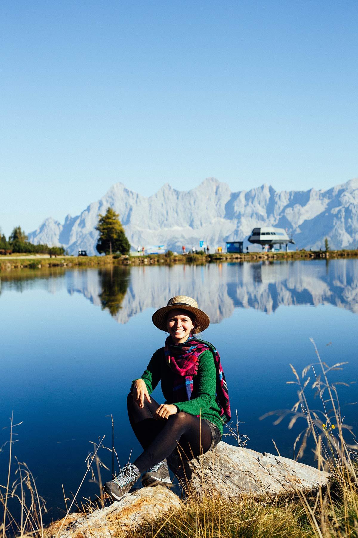 Berge in Schladming und Christine Neder