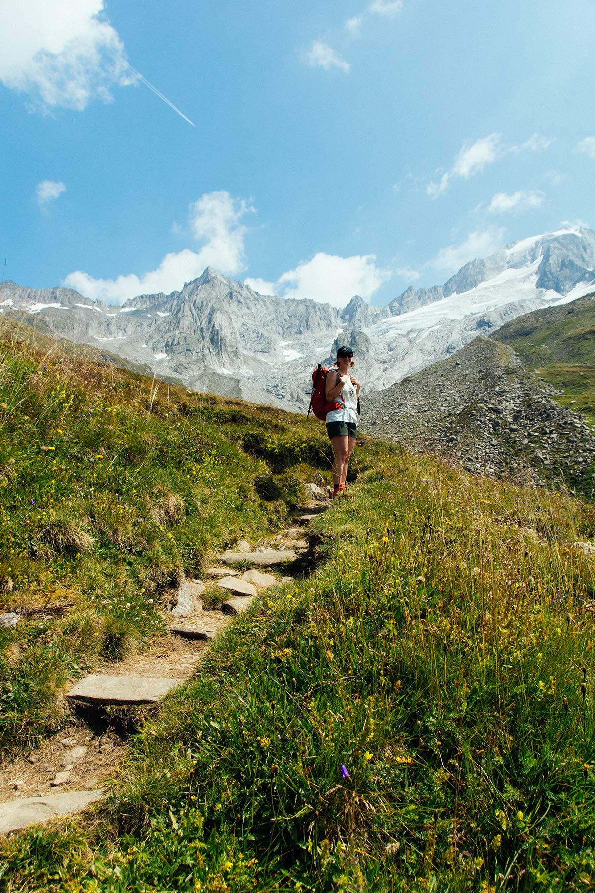 Bergpanorama Zillertaler Alpen
