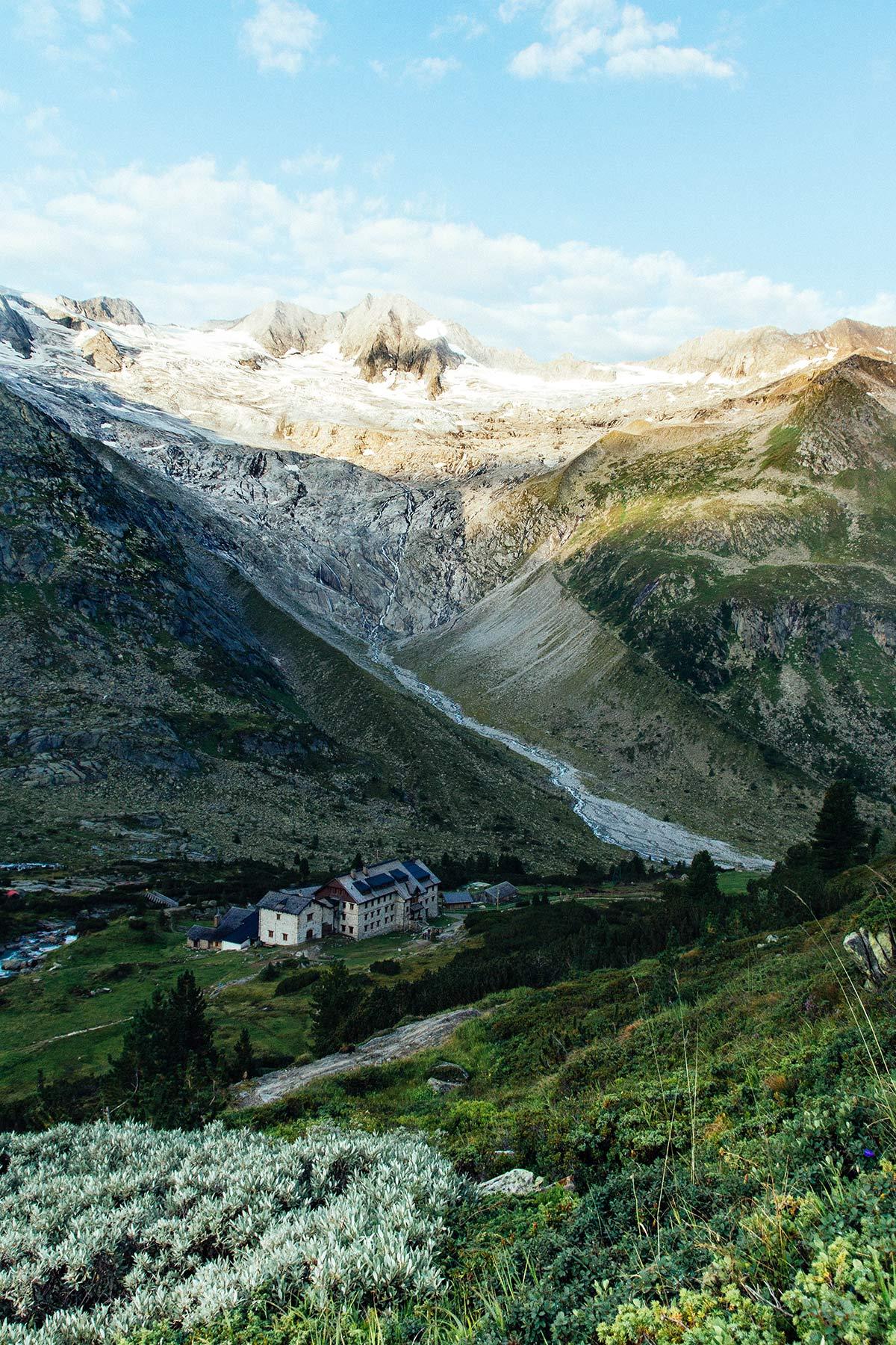 Berliner Huette in der Ferienregion Mayrhofen