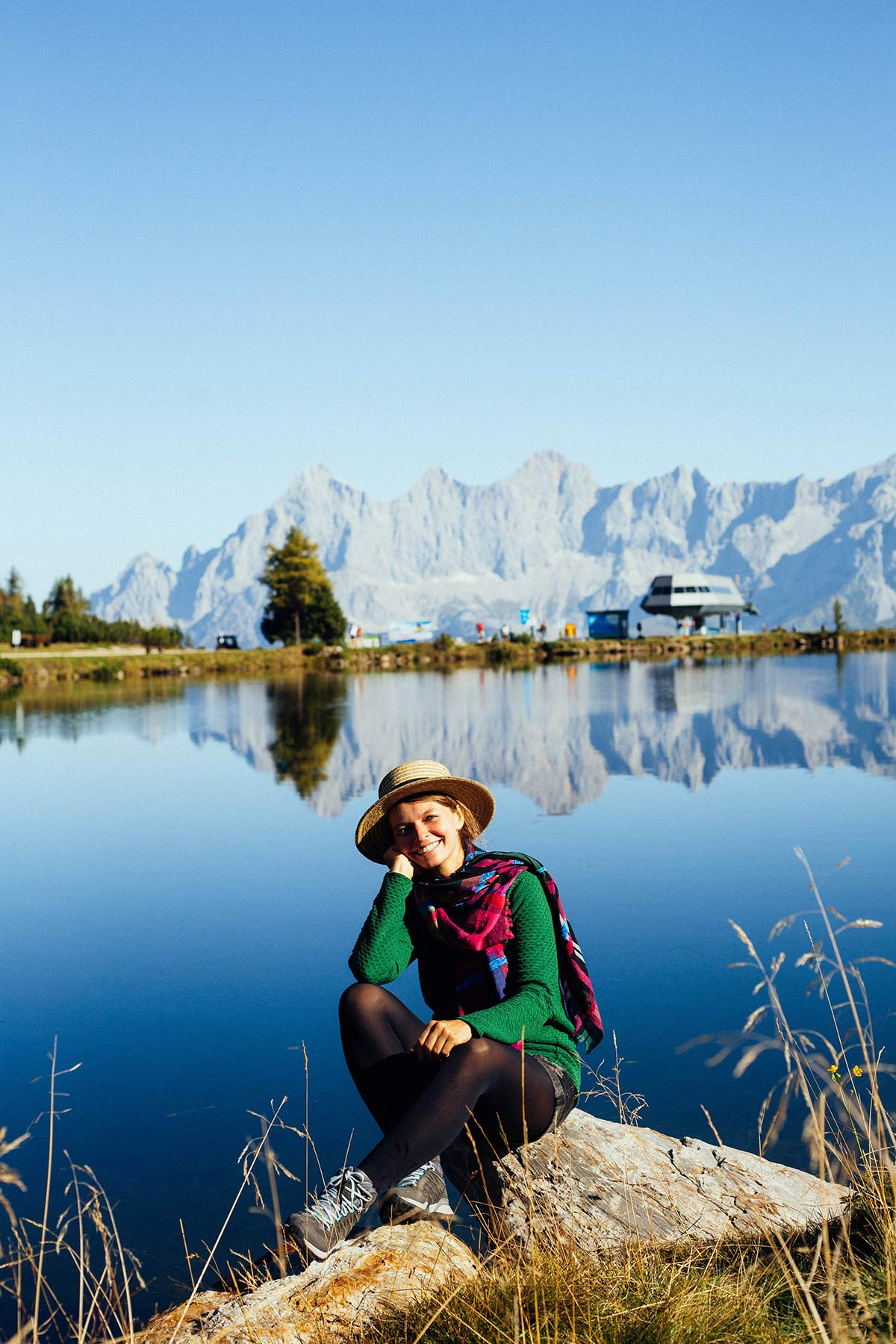 Christine Neder am Bergsee