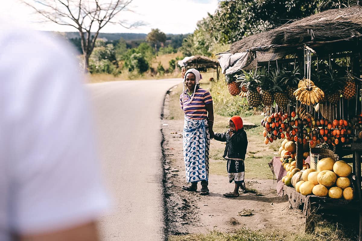 Einheimische von Madagaskar