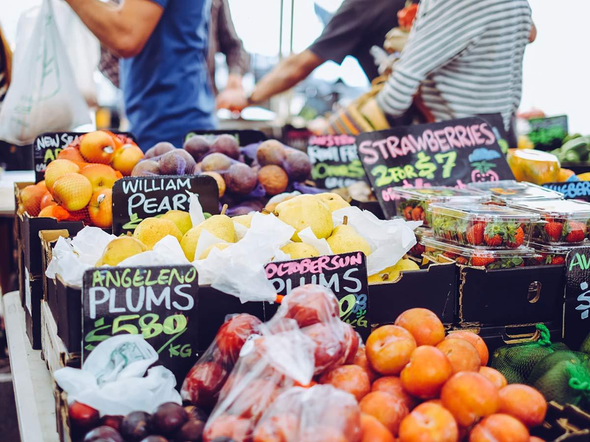 Markt in Burleigh Heads
