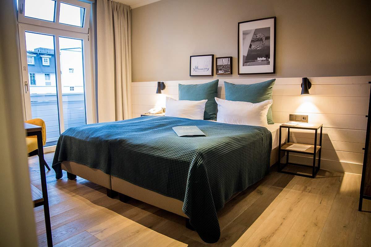 Mein schoenes Zimmer im Hotel Heimathafen in Heringsdorf