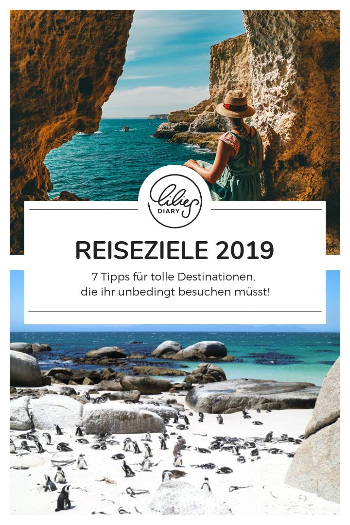 Reiseziele fuer 2019