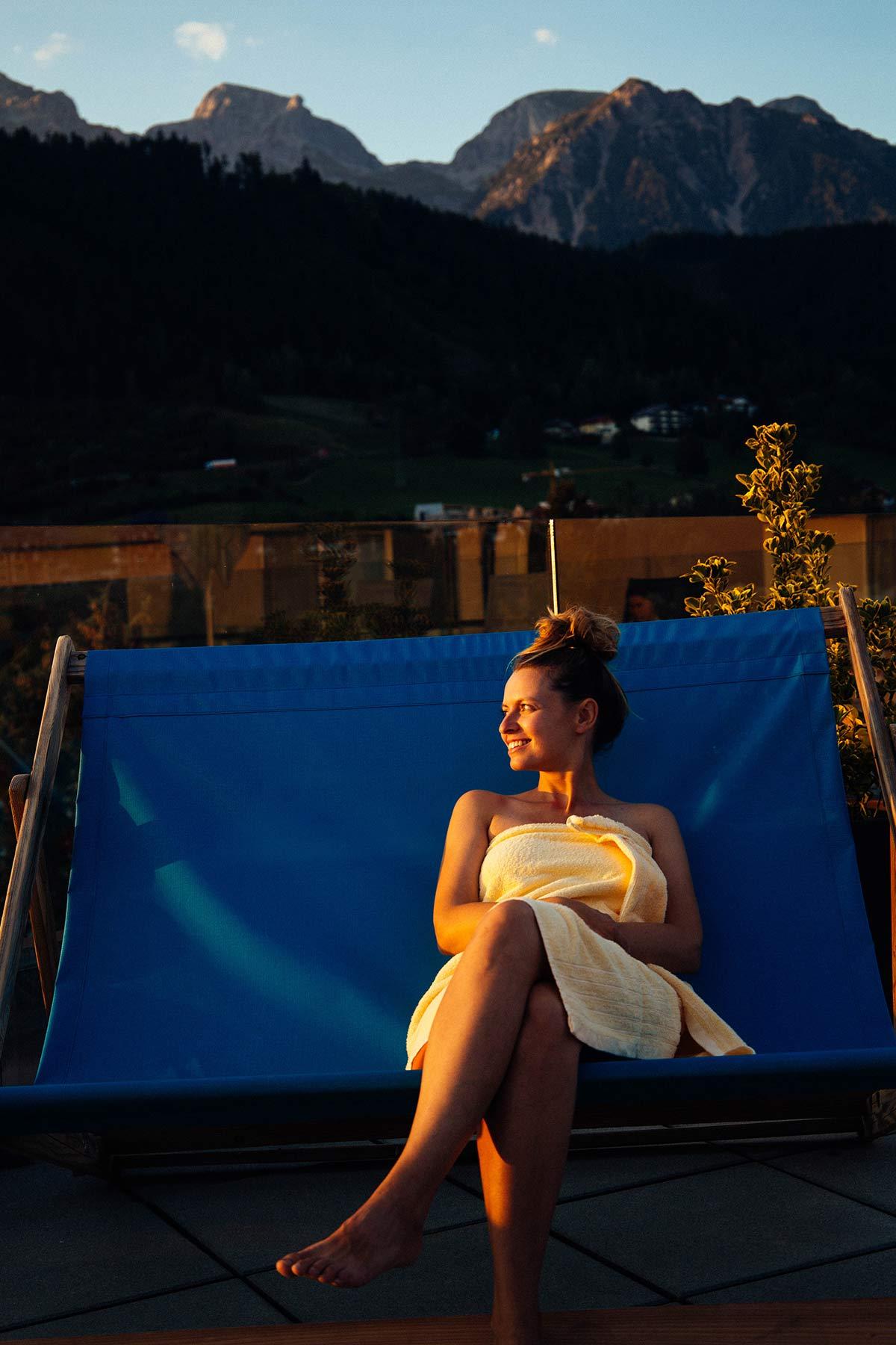 Sauna Tui Blue Plus in Schladming