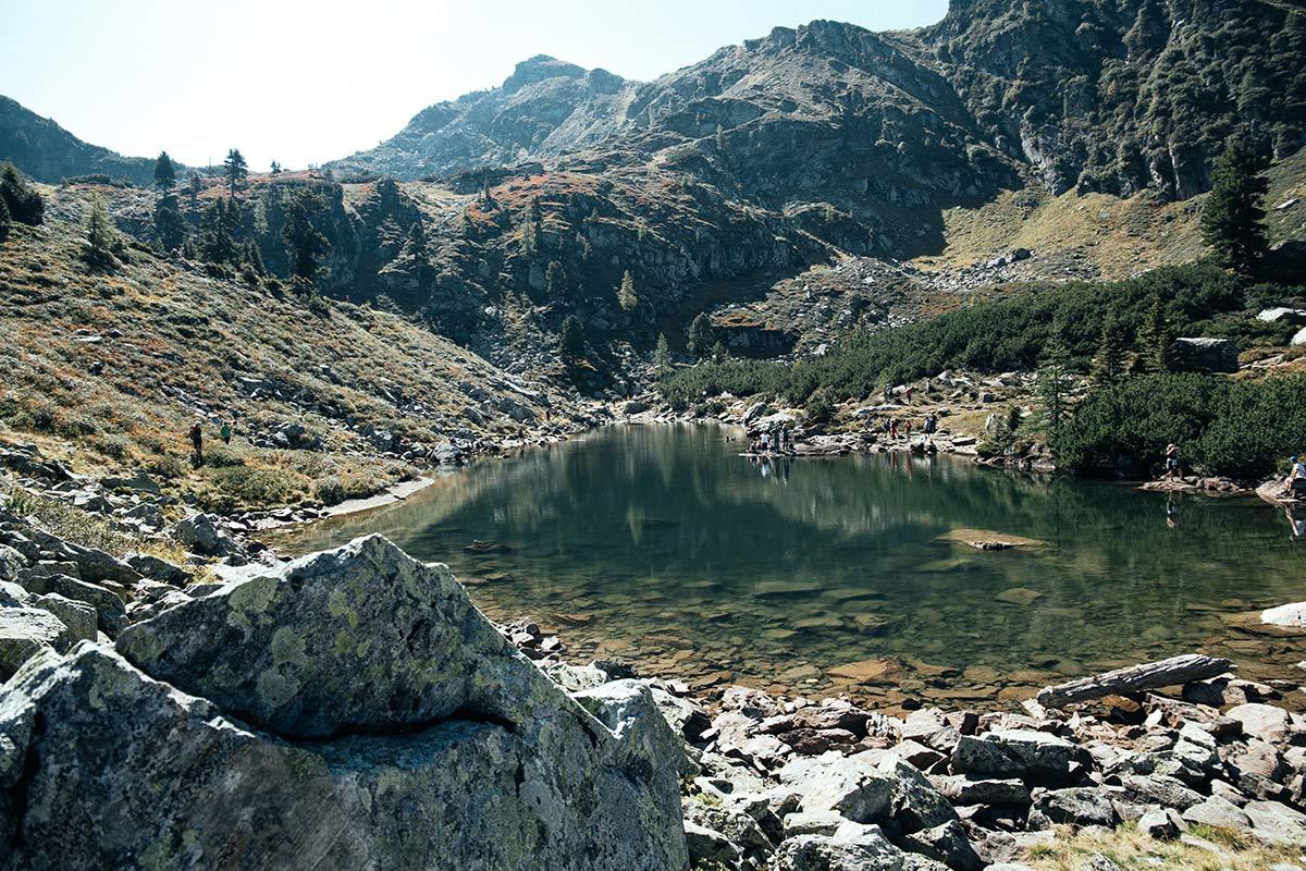 Spiegelsee in der Bergen