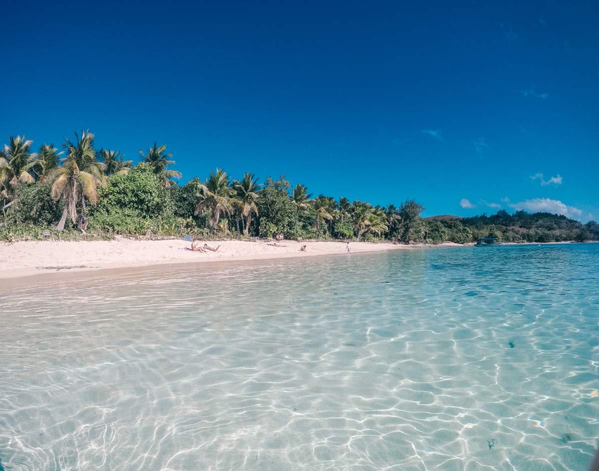 Straende von Fidschi