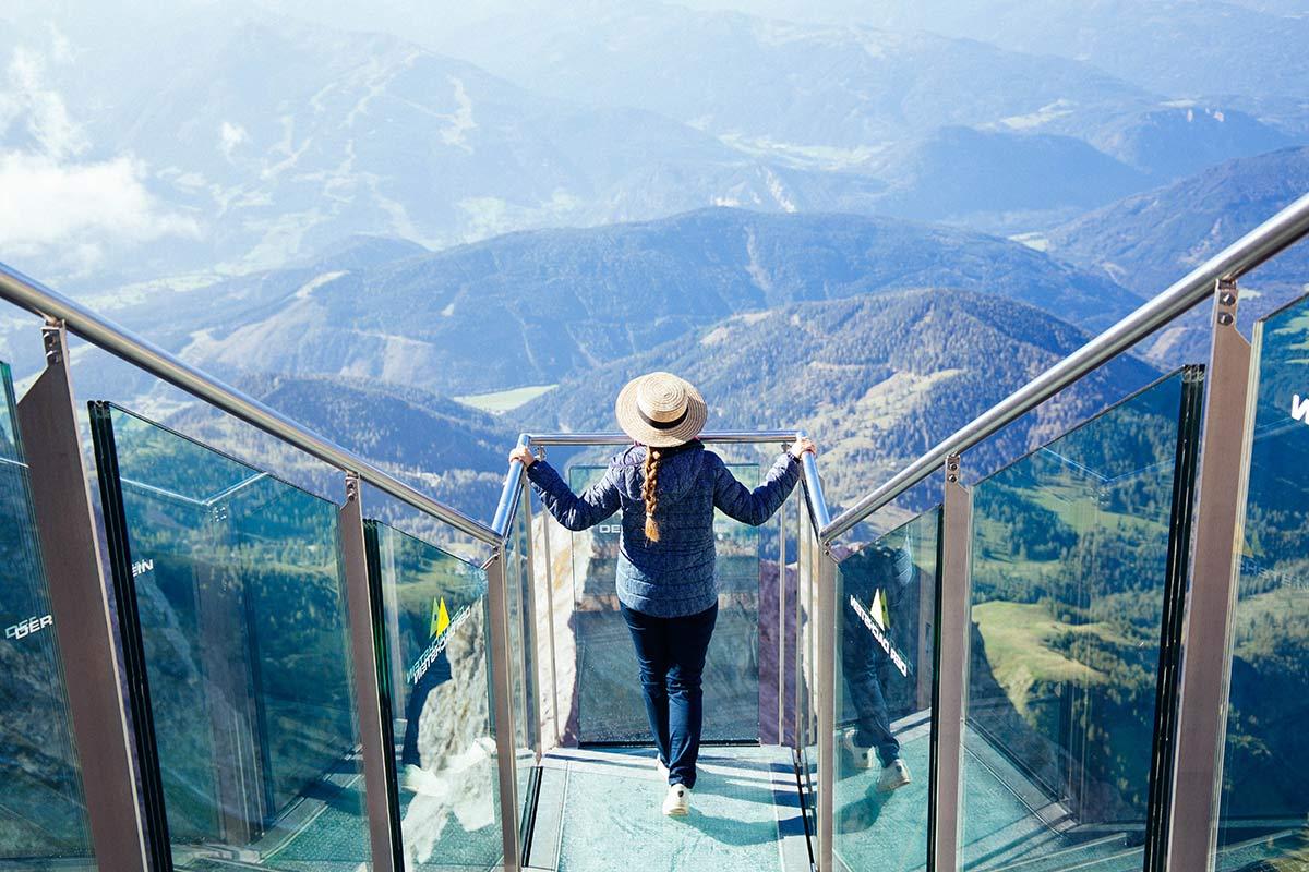 Treppe ins Nichts Dachstein