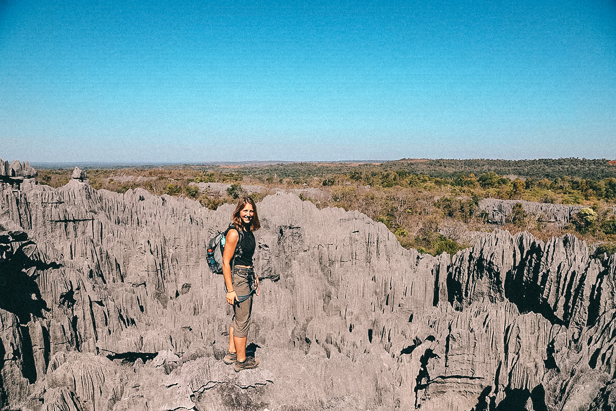 Wanderung durch den Tsingy Nationalpark